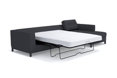 Fillmore 2pc Sleeper Sectional :: Configuration: LAF - Chaise on the Left / Sleeper Option: Deluxe Innerspring Mattress