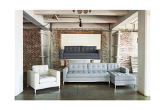 Fillmore 2pc Sleeper Sectional :: Configuration: RAF - Chaise on the Right / Sleeper Option: Deluxe Innerspring Mattress