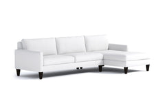 Formosa 2pc Sectional Sofa :: Leg Finish: Espresso / Configuration: RAF - Chaise on the Right