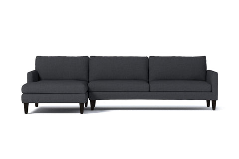 Formosa 2pc Sectional Sofa :: Leg Finish: Espresso / Configuration: LAF - Chaise on the Left