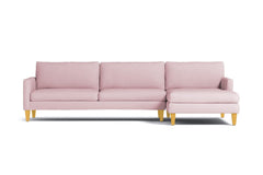 Formosa 2pc Sectional Sofa :: Leg Finish: Natural / Configuration: RAF - Chaise on the Right