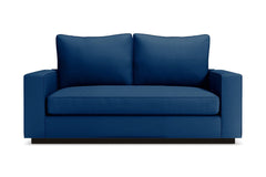Harper Apartment Size Sleeper Sofa :: Leg Finish: Espresso / Sleeper Option: Deluxe Innerspring Mattress