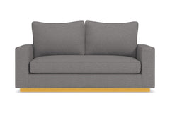 Harper Twin Size Sleeper Sofa :: Leg Finish: Natural / Sleeper Option: Memory Foam Mattress