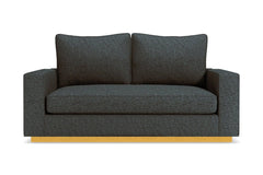 Harper Apartment Size Sleeper Sofa :: Leg Finish: Natural / Sleeper Option: Memory Foam Mattress