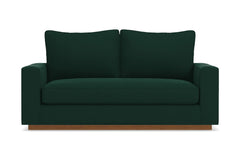 "Harper Apartment Size Sofa :: Leg Finish: Pecan / Size: Apartment Size - 74""w"