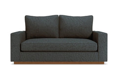 "Harper Loveseat :: Leg Finish: Pecan / Size: Loveseat - 62""w"