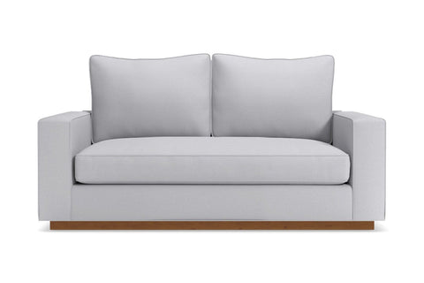 Harper Loveseat :: Leg Finish: Pecan / Size: Loveseat - 62