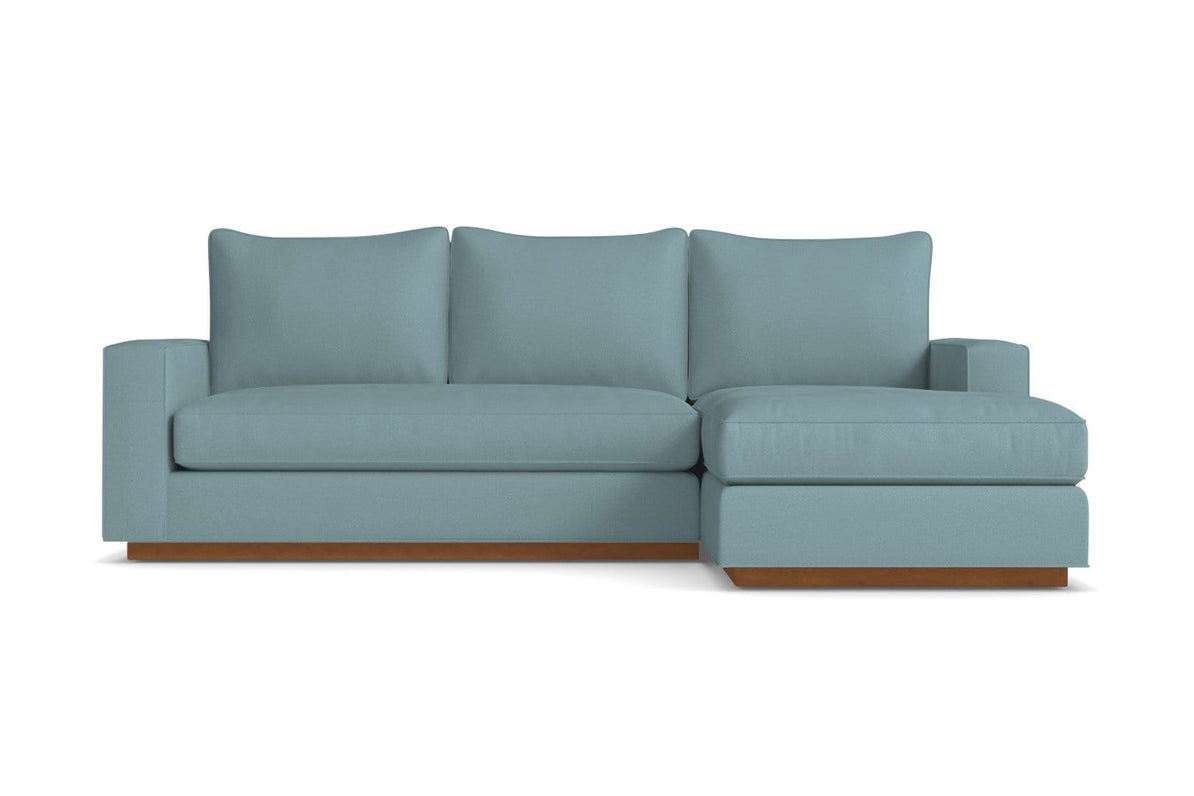 Harper Reversible Chaise Sofa   USA Made Small Space ...