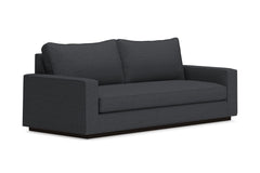 Harper Queen Size Sleeper Sofa :: Leg Finish: Espresso / Sleeper Option: Memory Foam Mattress