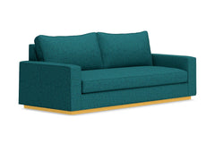 Harper Queen Size Sleeper Sofa :: Leg Finish: Natural / Sleeper Option: Memory Foam Mattress