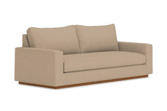Harper Sofa :: Leg Finish: Pecan