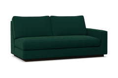Harper Right Arm Apt Size Sofa w/ Benchseat :: Leg Finish: Espresso / Configuration: RAF - Chaise on the Right