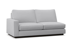 Harper Left Arm Apartment Size Sofa :: Leg Finish: Espresso / Configuration: LAF - Chaise on the Left