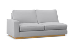 Harper Left Arm Apartment Size Sofa :: Leg Finish: Natural / Configuration: LAF - Chaise on the Left