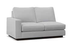 Harper Left Arm Loveseat :: Leg Finish: Espresso / Configuration: LAF - Chaise on the Left