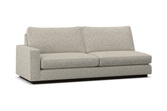 Harper Left Arm Sofa :: Leg Finish: Espresso / Configuration: LAF - Chaise on the Left