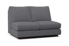 Harper Armless Loveseat :: Leg Finish: Espresso