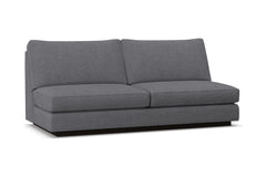 Harper Armless Sofa :: Leg Finish: Espresso