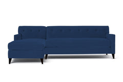 Harrison 2pc Sectional Sofa :: Leg Finish: Espresso / Configuration: LAF - Chaise on the Left