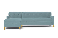 Harrison 2pc Sectional Sofa :: Leg Finish: Natural / Configuration: LAF - Chaise on the Left