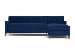 Harrison 2pc Sectional Sofa :: Leg Finish: Pecan / Configuration: RAF - Chaise on the Right