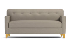 "Harrison Loveseat :: Leg Finish: Natural / Size: Loveseat - 54""w"