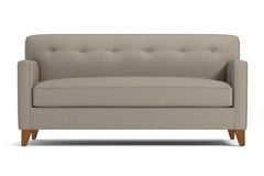 "Harrison Loveseat :: Leg Finish: Pecan / Size: Loveseat - 54""w"