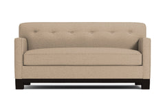 Harrison Ave Apartment Size Sleeper Sofa :: Leg Finish: Espresso / Sleeper Option: Memory Foam Mattress