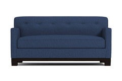 Harrison Ave Apartment Size Sleeper Sofa :: Leg Finish: Espresso / Sleeper Option: Deluxe Innerspring Mattress