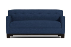 Harrison Ave Twin Size Sleeper Sofa :: Leg Finish: Espresso / Sleeper Option: Memory Foam Mattress