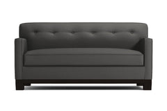 Harrison Ave Twin Size Sleeper Sofa :: Leg Finish: Espresso / Sleeper Option: Deluxe Innerspring Mattress