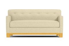 Harrison Ave Apartment Size Sleeper Sofa :: Leg Finish: Natural / Sleeper Option: Memory Foam Mattress