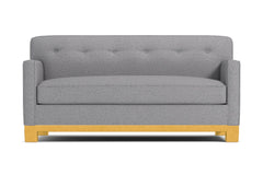 "Harrison Ave Apartment Size Sofa :: Leg Finish: Natural / Size: Apartment Size - 68.5""w"