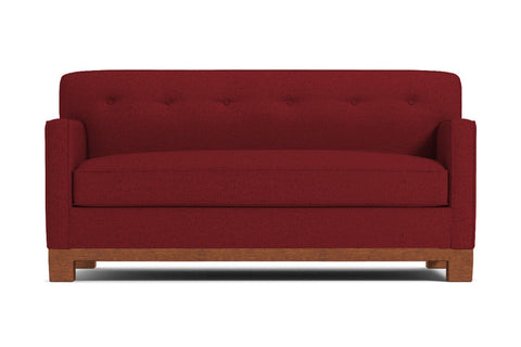 Harrison Ave Apartment Size Sofa :: Leg Finish: Pecan / Size: Apartment Size - 68.5