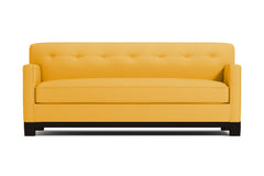Harrison Ave Queen Size Sleeper Sofa :: Leg Finish: Espresso / Sleeper Option: Deluxe Innerspring Mattress