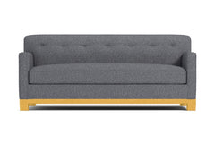 Harrison Ave Queen Size Sleeper Sofa :: Leg Finish: Natural / Sleeper Option: Deluxe Innerspring Mattress