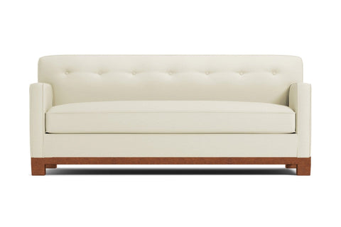 Harrison Ave Sofa :: Leg Finish: Pecan
