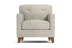 Harrison Chair :: Leg Finish: Pecan