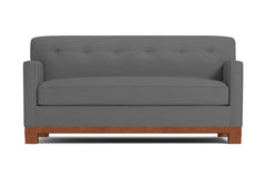 "Harrison Ave Loveseat :: Leg Finish: Pecan / Size: Loveseat - 54""w"