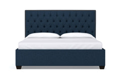 Huntley Drive Upholstered Bed :: Leg Finish: Espresso / Size: Queen Size