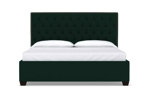Huntley Drive Upholstered Bed :: Leg Finish: Espresso / Size: King
