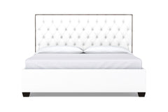 Huntley Drive Upholstered Bed :: Leg Finish: Espresso / Size: California King