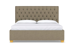 Huntley Drive Upholstered Bed :: Leg Finish: Natural / Size: Eastern King