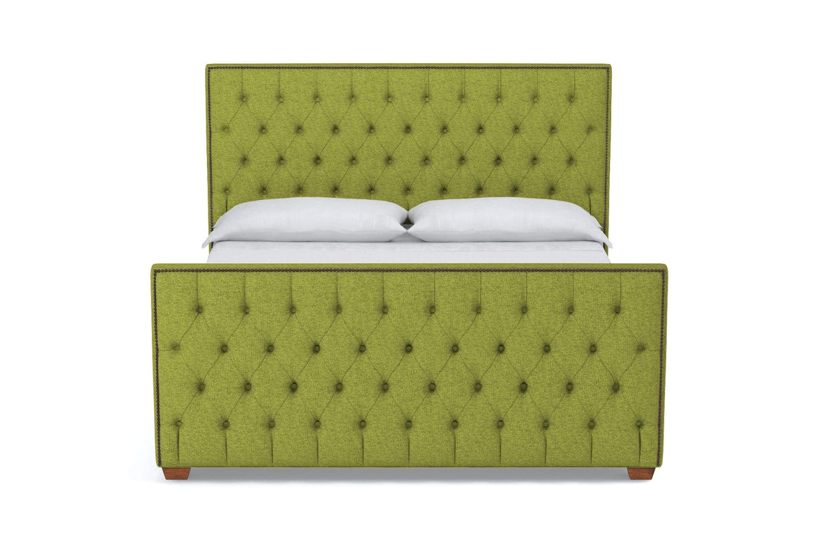 Peachy Huntley Tufted Upholstered Bed Leg Finish Pecan Size Queen Size Camellatalisay Diy Chair Ideas Camellatalisaycom