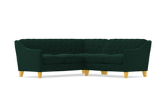 Jackson 2pc Sectional Sofa :: Leg Finish: Natural