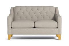 "Jackson Loveseat :: Leg Finish: Natural / Size: Loveseat - 53""w"