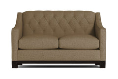 Jackson Heights Apartment Size Sleeper Sofa :: Leg Finish: Espresso / Sleeper Option: Deluxe Innerspring Mattress