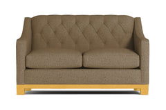 Jackson Heights Twin Size Sleeper Sofa :: Leg Finish: Natural / Sleeper Option: Deluxe Innerspring Mattress