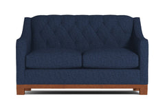 "Jackson Heights Loveseat :: Leg Finish: Pecan / Size: Loveseat - 53""w"