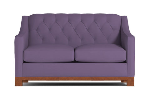 Jackson Heights Loveseat :: Leg Finish: Pecan / Size: Loveseat - 53